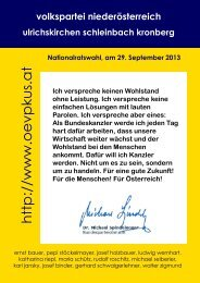ÖVP-Zeitung