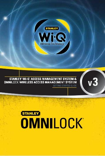 Stanley WAMS Getting Started Guide - OSI Security Devices