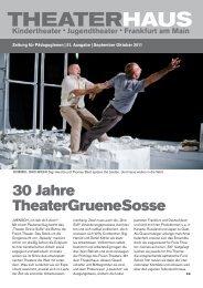 Theaterhaus Zeitung September & Oktober 2011 - Frankfurt ...