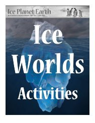 Ice Worlds at Ice Planet Earth