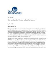 Fiscal Fact No. 95 - Tax Foundation