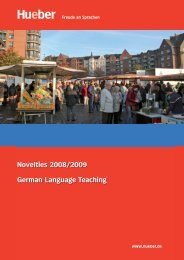 Novelties 2008/2009 German Language Teaching