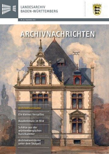 Archivnachrichten Nr. 45, September 2012 (application/pdf 3.8