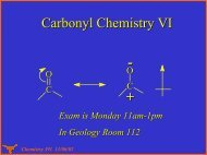 Chemistry 391 11/06/02 Decarboxylation - Willson Research Group