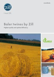 Baler twines by Zill - Zill GmbH & Co. KG