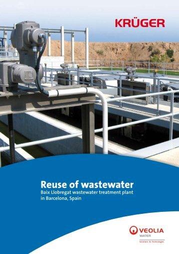 Baix Llobregat wastewater treatment plant - bochure in ... - Krüger A/S