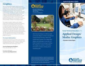 Applied Design/ Media: Graphics - Allan Hancock College