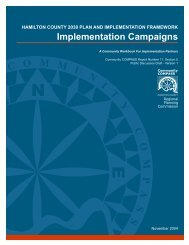 Implementation Campaigns - Hamilton County, Ohio