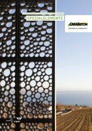 Spezialelemente - Creabeton Materiaux AG