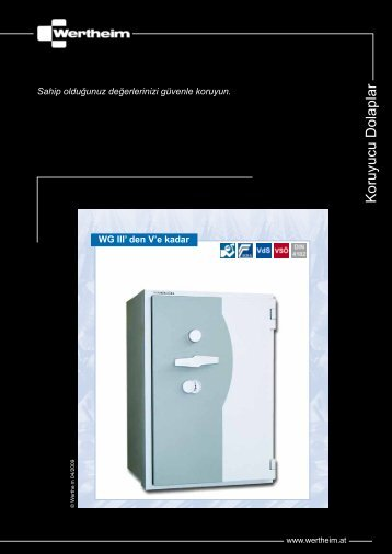 Katalog (PDF Formatında) - Wertheim