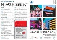 AUSSCHREIBUNGSBEDINGUNGEN FÜR - Duisburg nonstop