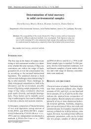 Determination of total mercury in solid environmental samples - RMZ