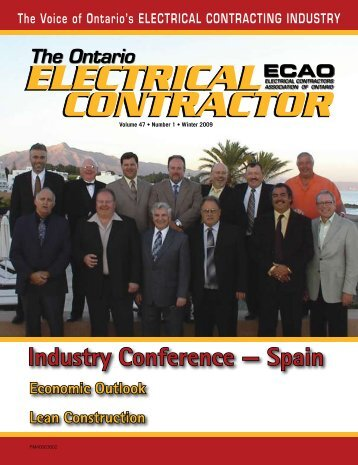 Winter 2009 - Electrical Contractors Association of Ontario