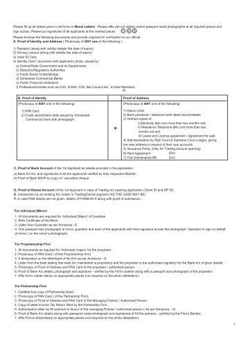 1 Please Fill The Form In BLOCK LETTERS 2 Items Marked