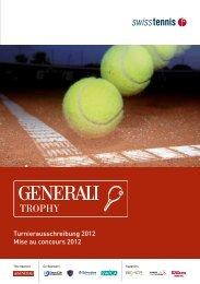 Turnierausschreibung 2012 Mise au concours 2012 - Tennis-Club ...