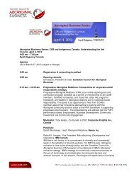 Understanding the link Toronto, April 4, 2012 8:00 am - Canadian ...