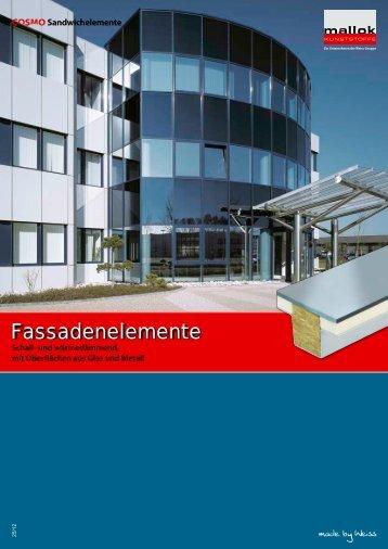 Fassadenelemente - Weiss Chemie + Technik