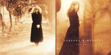 Download the CD booklet in PDF format - Loreena McKennitt