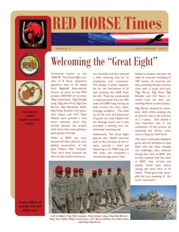 RED HORSE Times - Red Horse Association