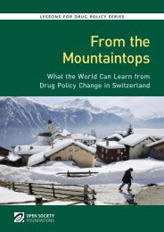 What the World Can Learn from Drug Policy Change in Switzerland