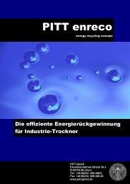Broschüre downloaden - PITT GmbH