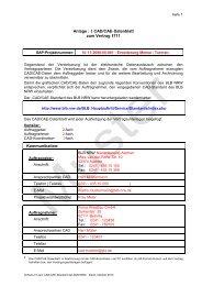 Anlage : 5 CAD/CAE-Datenblatt zum Vertrag 4711 Kommunikation: