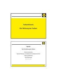 Temperatur Warme Farben - SAKRET GmbH