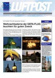 "Innovative ""Eye Catcher"" als wirkungsvolles Marketing ... - Gefa-Flug"