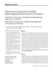 Deficiencia de glucosa-6-fosfato deshidrogenasa eritrocitaria en ...