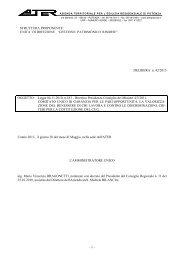 DELIBERA n. 42/2013 OGGETTO: Legge 04.11 ... - ATER Potenza