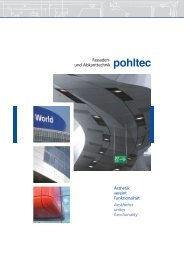 Fassade – Ästhetik vereint Funktionalität DE/EN (3,7 - pohltec