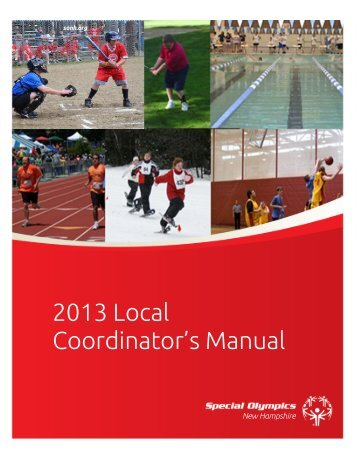 Local Program Coordinator's Manual (LCM) - Special Olympics ...