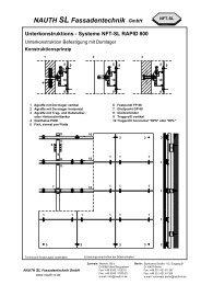 NAUTH SL Fassadentechnik GmbH