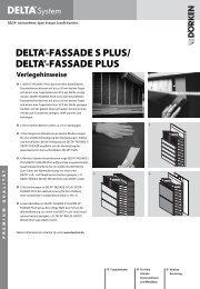 Verlegehinweise und Ausschreibungstexte DELTA®-FASSADE S ...