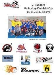 Bündner Cup Spielplan 1314 - Blau-Gelb Cazis