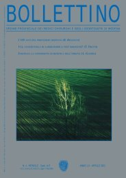 Aprile 2003 (pdf - 618 KB) - Ordine Provinciale dei Medici Chirurghi ...