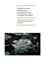 Towards a Green Infrastructure Framework for the Liverpool City ...