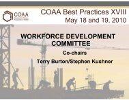 Terry Burton - Construction Owners Association of Alberta