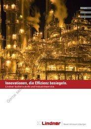 Broschüre Isoliertechnik und Industrieservice (PDF) - Lindner Group