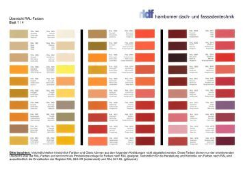 pdf tabelle der ral farben. Black Bedroom Furniture Sets. Home Design Ideas