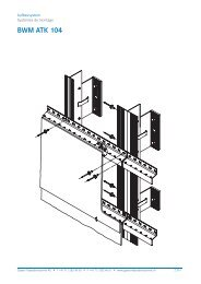 BWM ATK 104 - Gasser Fassadentechnik
