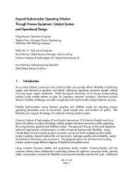 Expand Hydrocracker Operating Window Through Process ...