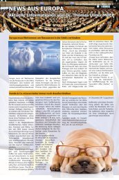news aus europa 15 märz 2010 - Dr. Thomas Ulmer MdEP