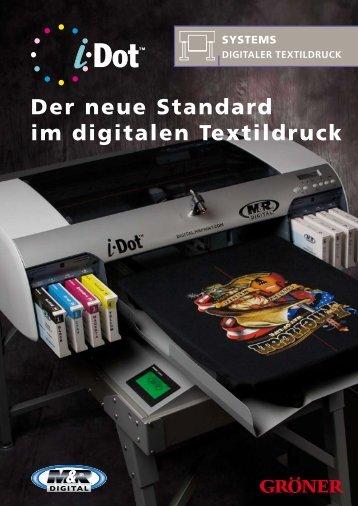 Der neue Standard im digitalen textildruck