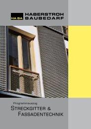 Streckgitter & Fassadentechnik - Haberstroh Baubedarf GmbH
