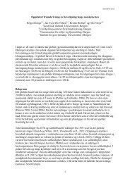 Oppdatert framskriving av havstigning langs norskekysten (pdf)