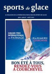 Sport de Glace JUIN-JUILLET 2012 - FFSG