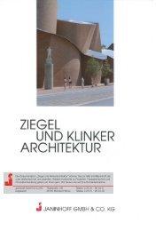 """""""Ziegel und Klinkerarchitektur"""" können Sie per Mail ... - C2 Elements"""