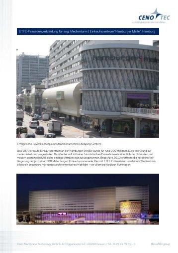 ETFE-Fassadenverkleidung für sog. Medienturm ... - Sattler AG