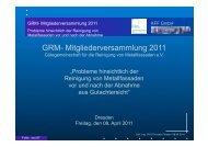 GRM_MV_2011 Vortrag Förster key